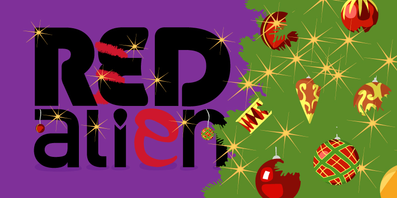 red alien christmas round up -  SEO